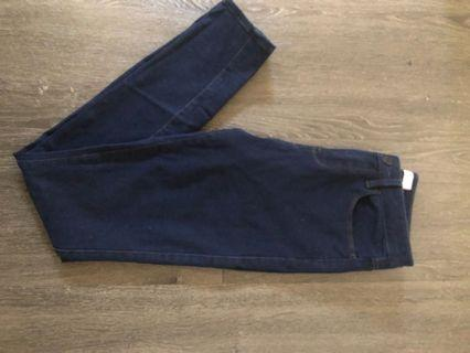 Jeans West Navy skinny jeans