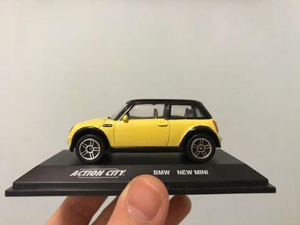 Mini Cooper 模型車 BMW toy car 連展示架 擺設 禮物 男朋友