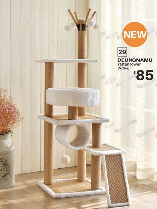 【BRAND NEW/INSTOCK】DEUNGNAMU rattan tower - 5 Tier