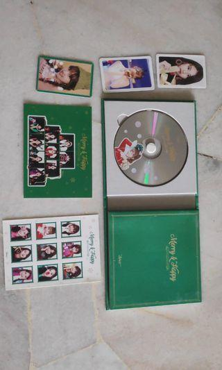 Twice 1st repackaged album | Merry and Happy (Green ver.)