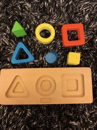 Montessori object permanence toy