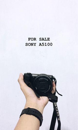 Mirrorles Sony A5100 Black Bonus Lensa Fix