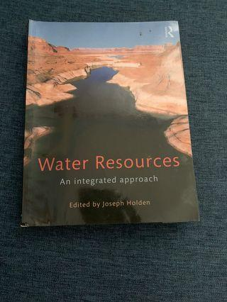 🚚 GE2229 Water resources by Joesph Holden