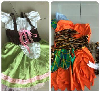 2 pieces kids costumes girls boys
