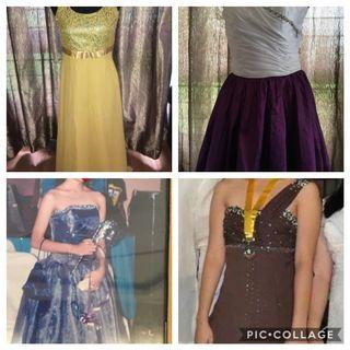 HS prom gowns for petite body sizes