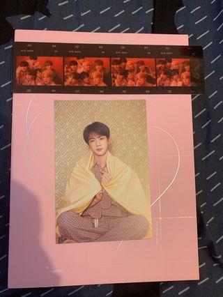 WTS Seokjin Signed Postcard