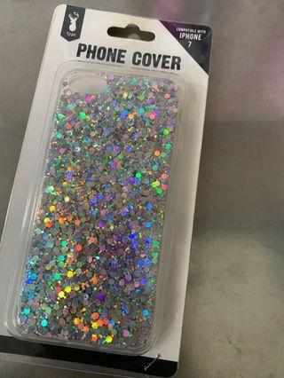 🚚 typo holographic iphone 7 case