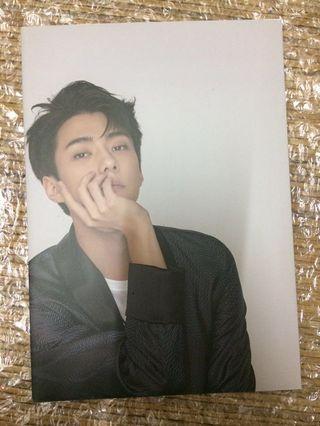 SG 2018 EXO Sep Poster (Sehun)