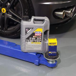 PROMOTION! GENUINE LIQUI MOLY SERVICING FROM $108