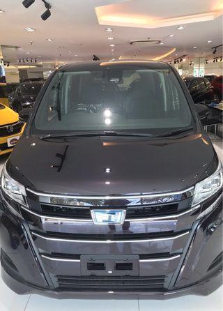 Toyota Noah(New) for Rental !