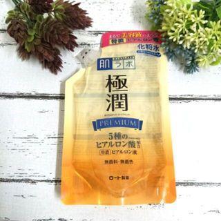 【日本帶回】ROHTO 肌研 極潤 金緻特濃保濕化妝水 金極潤 特濃保濕精華 補充包 170ml #全新 #現貨