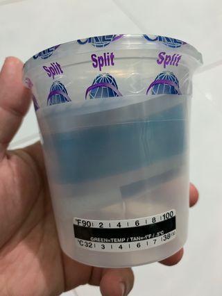 Urinalysis Sample Cup 75mL urine blood saliva sample cup