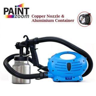 COD✔ SELF PICKUP CHERAS ✔ Paint Zoom Plus Electric Paint Spray Upgraded Copper Nozzle Aluminium Container