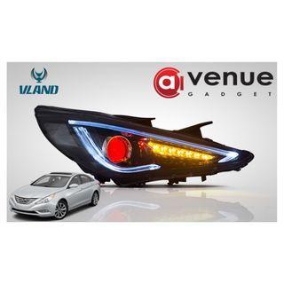 Hyundai Sonata 2011-2014 Headlight with Devil Eye