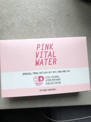 Etude House Pink Vital Watet Kit