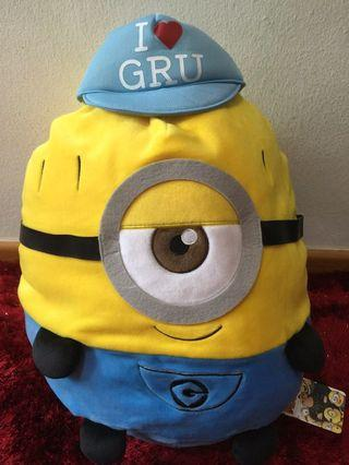 Despicable me minion cushion plush toy