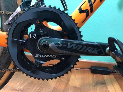 Specialized S-works cranks with Quarq pm