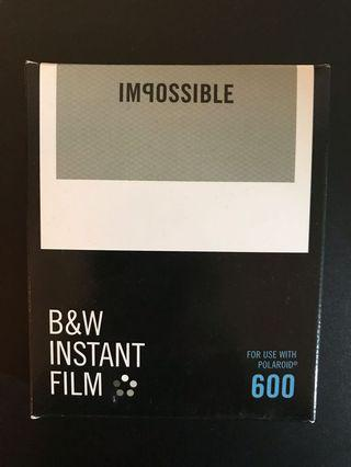Impossible B&W Instant Film