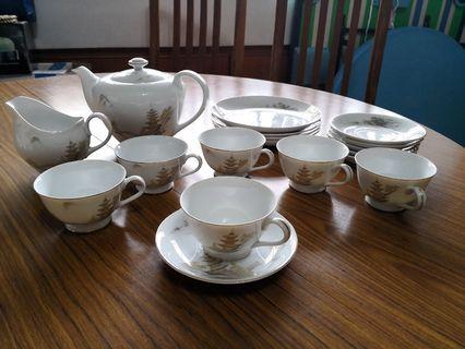 20pcs Old House Tea Set