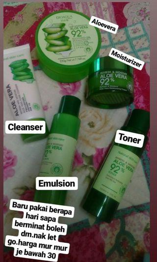 Aloevera skin care set