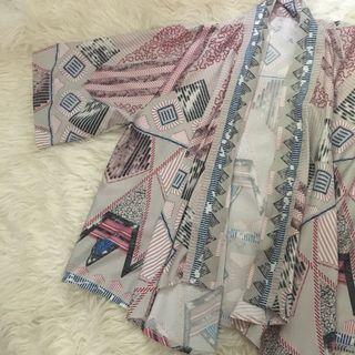 Outer motif / Cardigan motif / blazer wanita