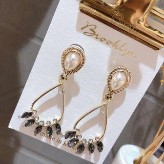 🚚 復古宮廷珍珠耳環