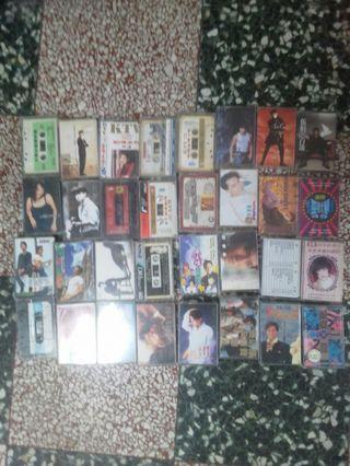 錄音帶。32片。
