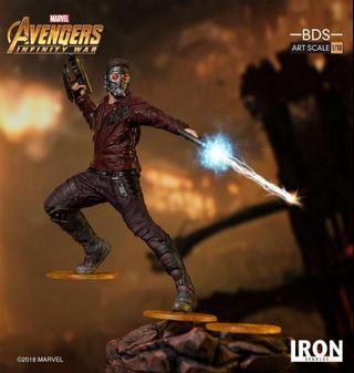 IRON STUDIOS BDS ART SCALE 1/10 STAR LORD STATUE