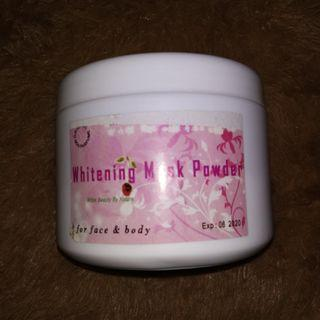 Whitening mask powder #mauthr