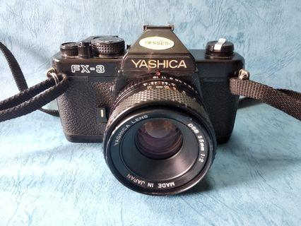 yashica fx3 連55mm 2lens