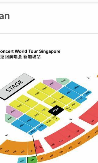 🚚 Jay Chou concert ticket.