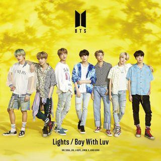 BTS NEW JAPAN SINGLE LIGHTS/BOY WITH LUV