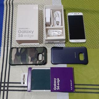 Samsung s6 edge 32 gb white