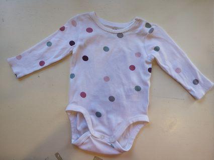 H&M Baby Romper (Long sleeve) (2-4mths)