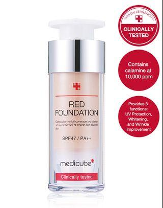 🚚 MEDICUBE Red Foundation BRAND NEW - SHADE #22