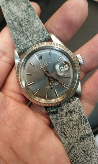 Rolex 1603 datejust ghost grey
