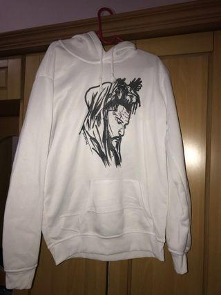 The Weeknd White Hoodie
