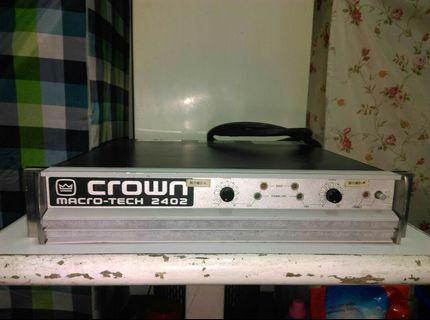 crown macrotech 2402