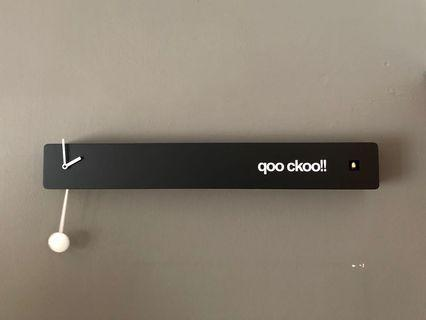 🚚 qoo ckoo wall clock