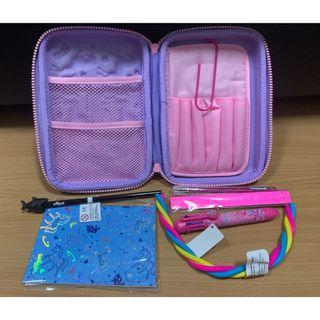 Imagine Hard Top Pencil Case (Pink) (Smiggle) (Authentic) (Brand New)