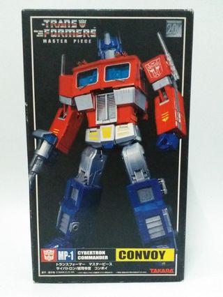 變形金剛 柯柏文Transformers MP01 Convoy 全新絕版日版