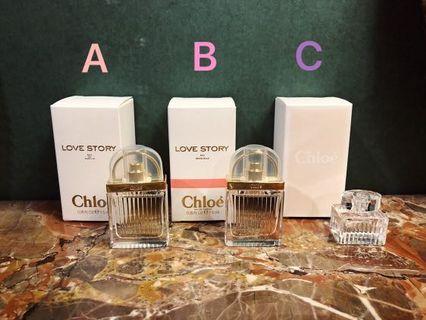🚚 Chloe Love Story 愛情故事女性淡香精 7.5ml