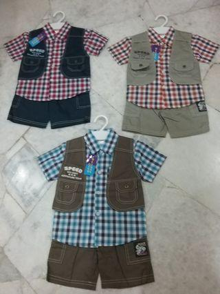 Three Pieces Boys Suit