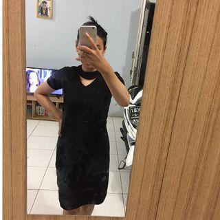 Black dress bodycon