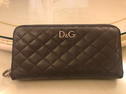 D&G real leather wallet