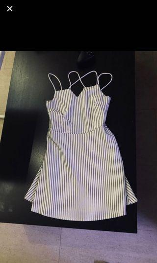 TEMT stripped dress
