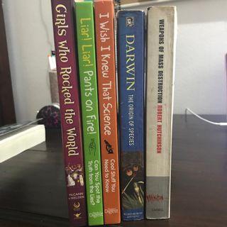 Various Non-fiction Books
