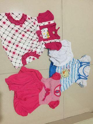 Dress kaos bayi (take it all)