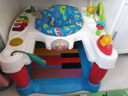 🚚 Fisher price little superstar step and piano