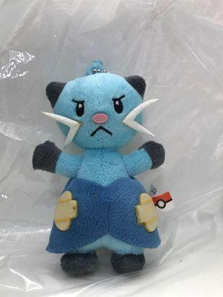 Pokemon Banpresto Dewott keychain plush